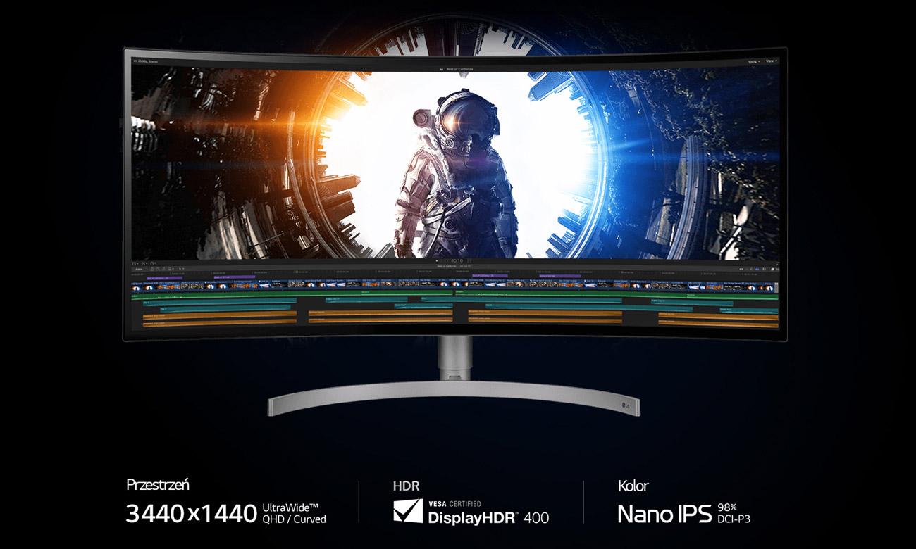 Monitor profesjonalny LG 34WK95C-W