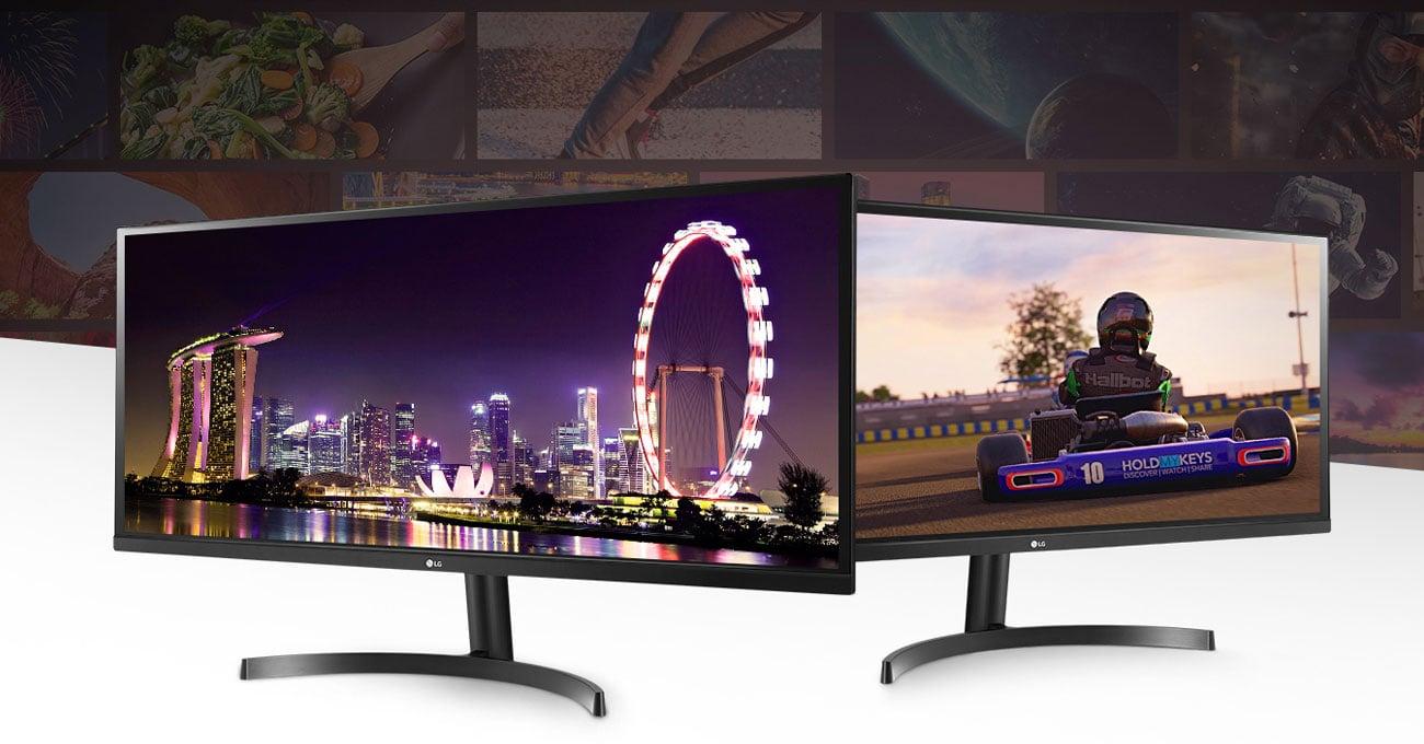 Monitor do domu i do biura LG 34WL500-B