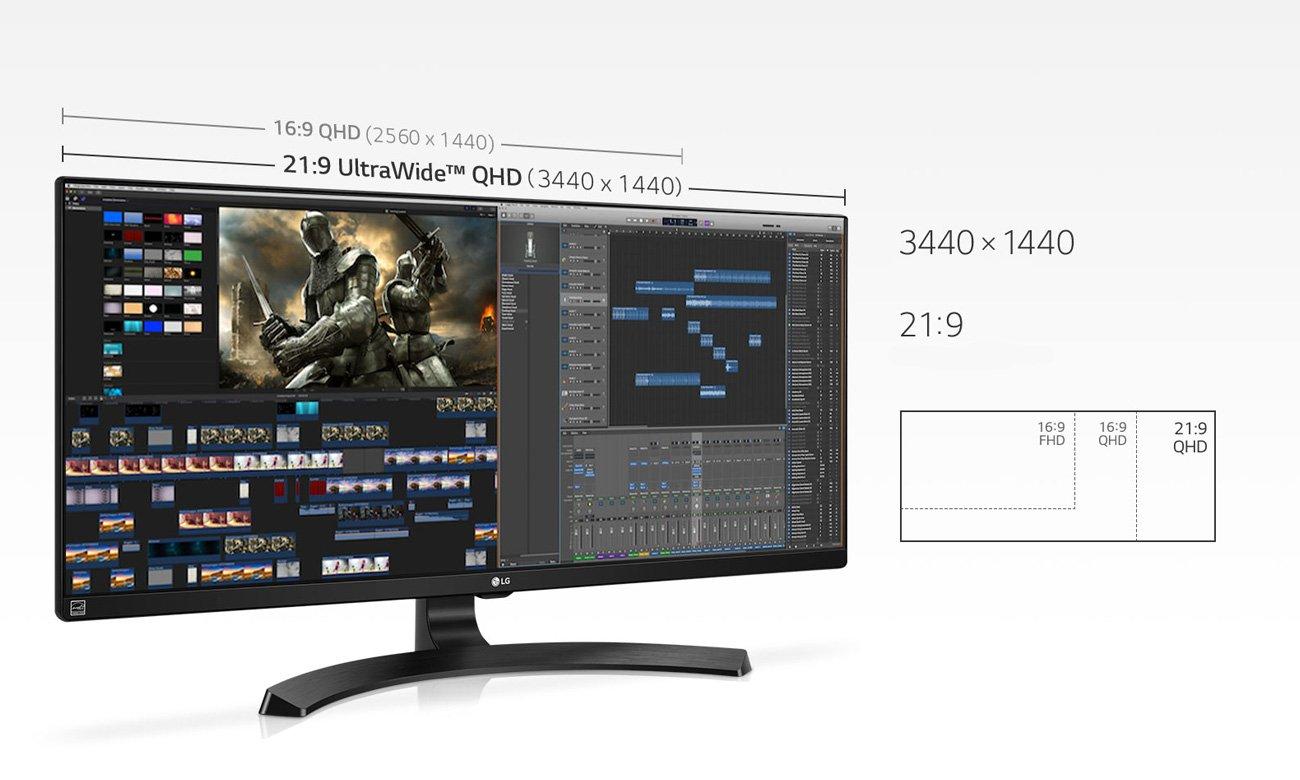 Monitor profesjonalny LG 34WL750-P