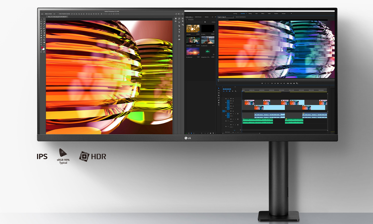 Monitor do zastosowań biznesowych LG 34WN780-B