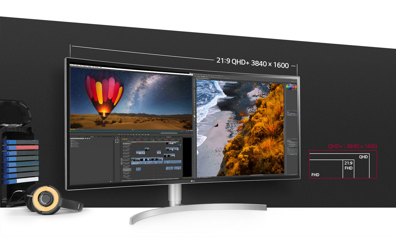 LG 38WK95C-W Ekran UltraWide QHD+