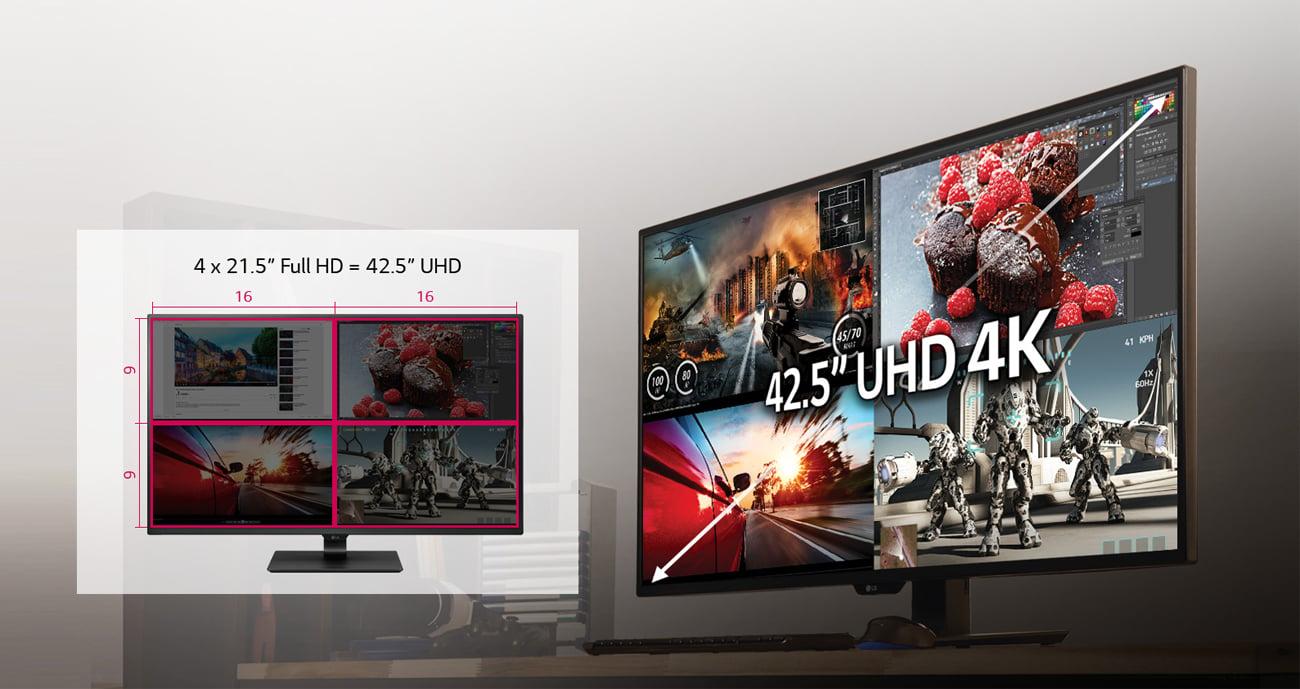 Monitor 43 cale LG 43UD79-B 4K Ultra HD