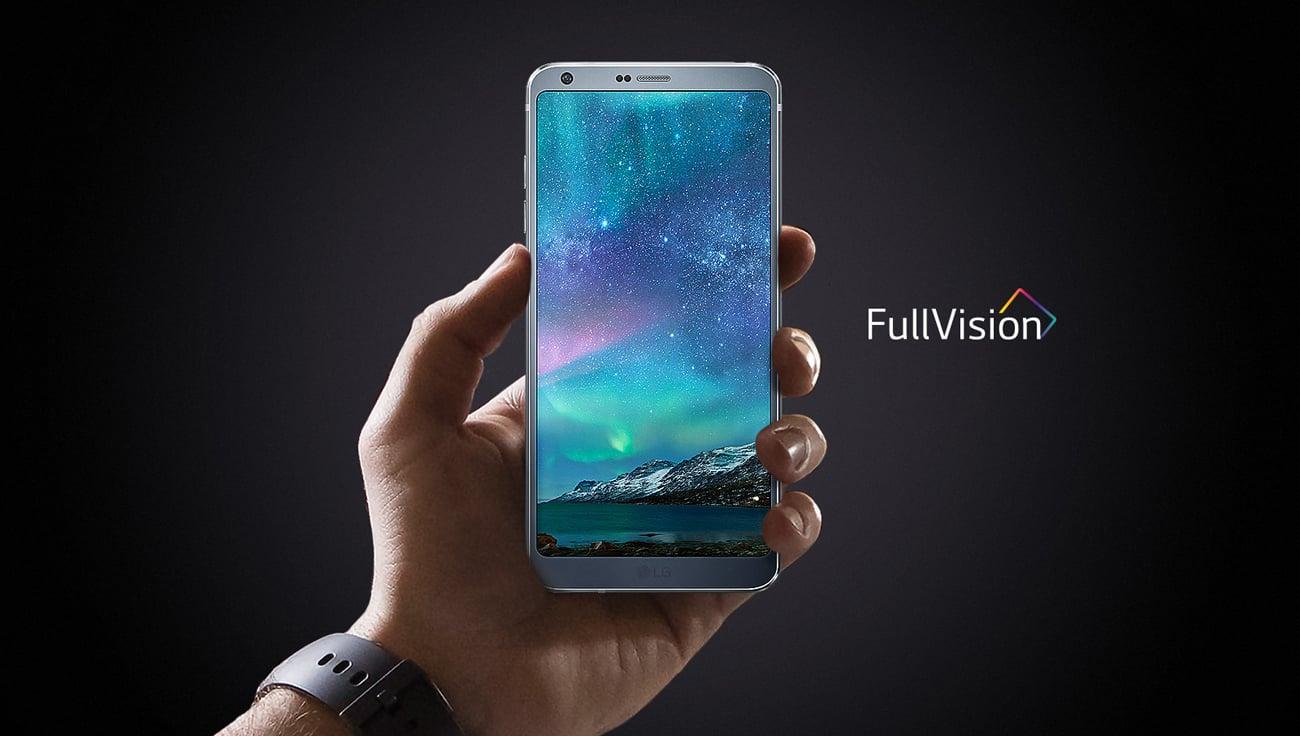 LG G6 Arctic White ekran 5.7'' QHD+ IPS
