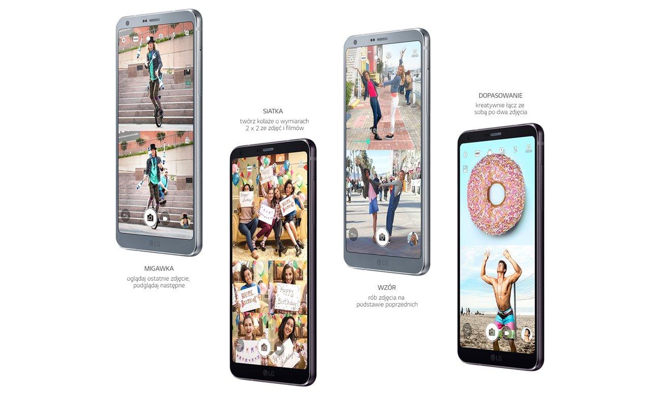 LG G6 tryb zdjęć kwadratowych