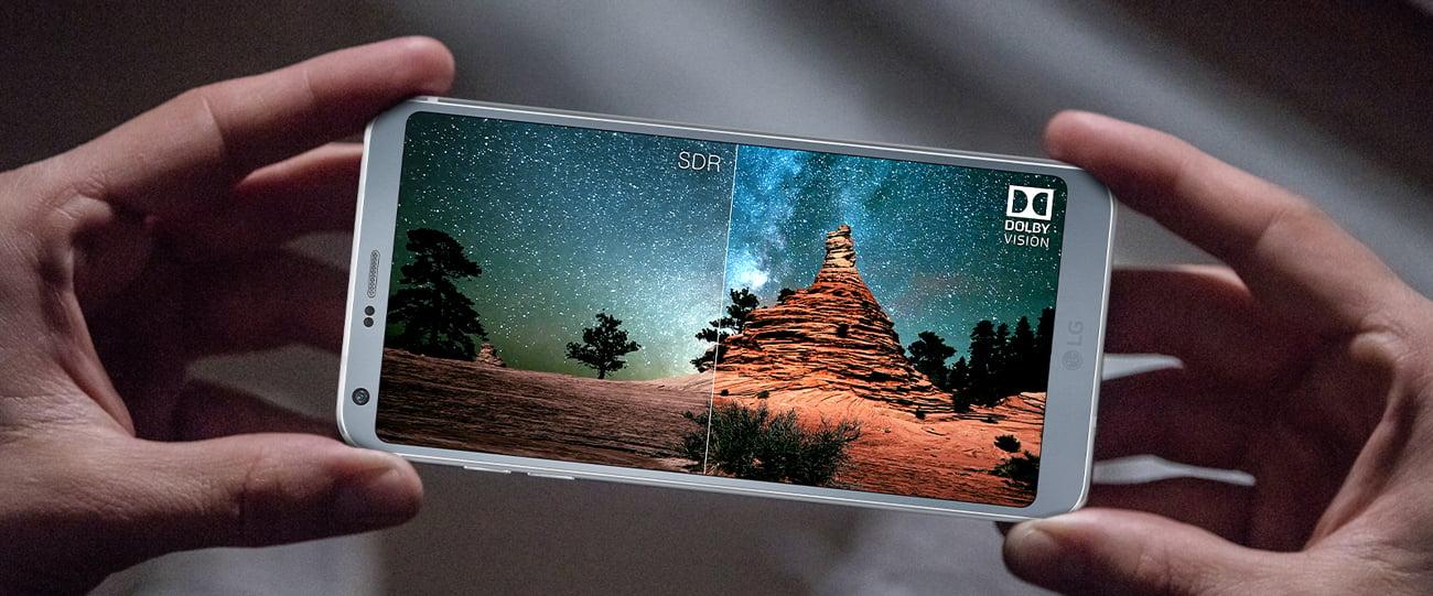 LG G6 QHD+ FullVision Dolby Vision technologia Vulkan