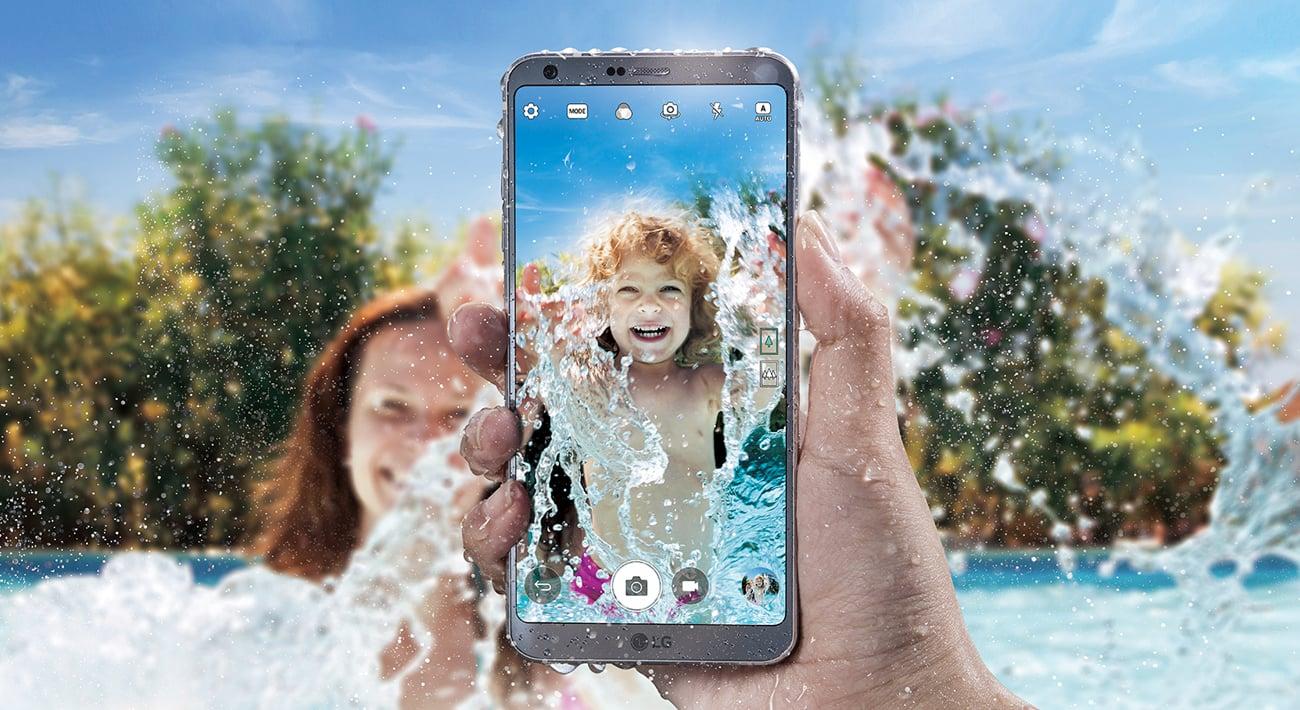 LG G6 klasa odporności IP68