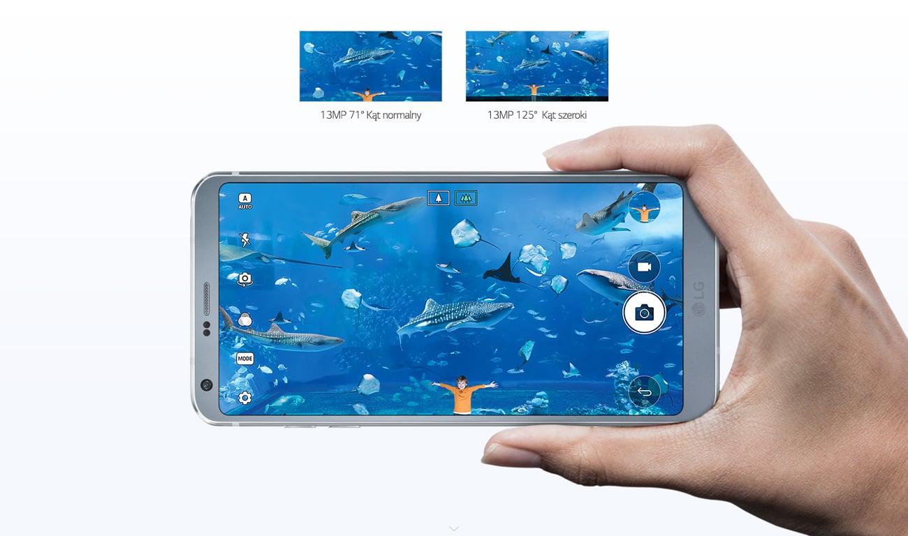 LG G6 podwójny aparat 13 mpix