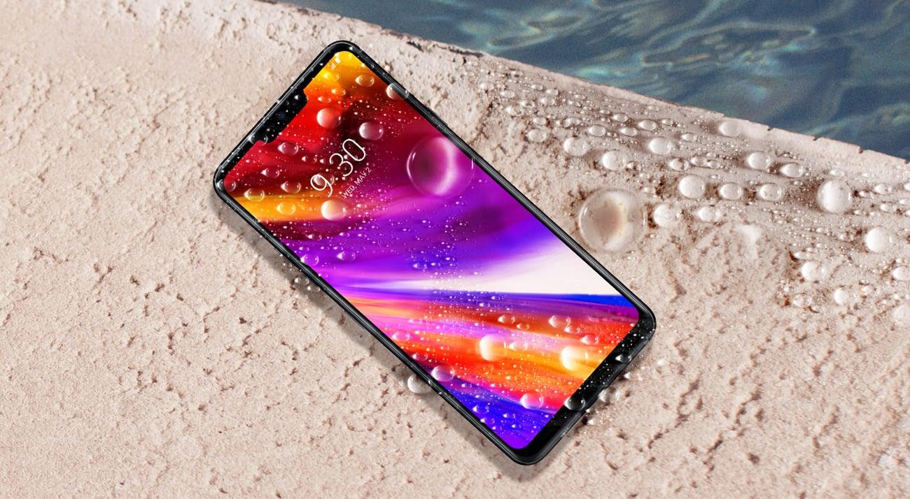 LG G7 ThinQ ekran 6,1 QHD+