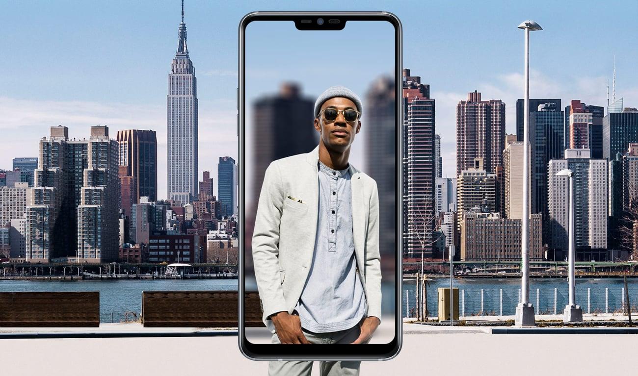 LG G7 ThinQ inteligentne rozoznawanie scenerii
