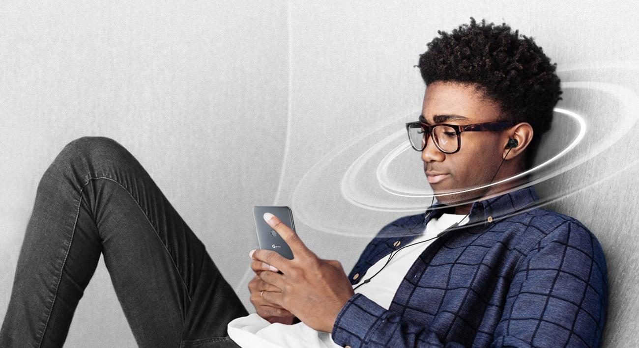 LG G7 ThinQ dźwięk DTS X 3D