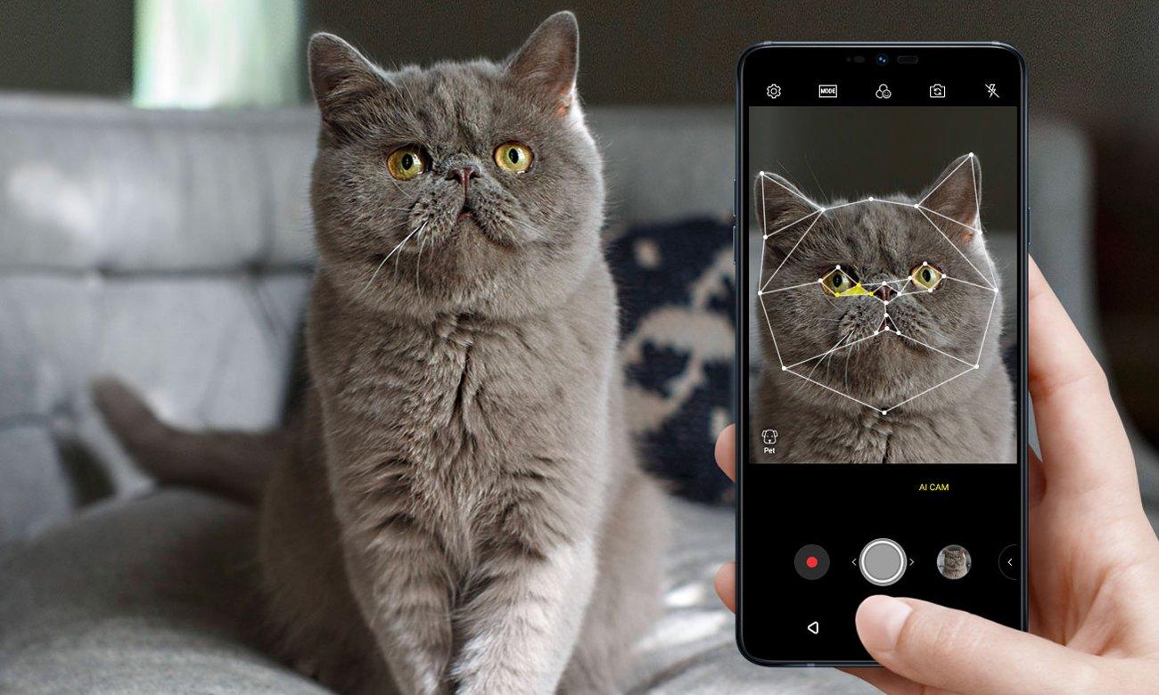 LG G7 fit AI CAM aparat 16 mpix