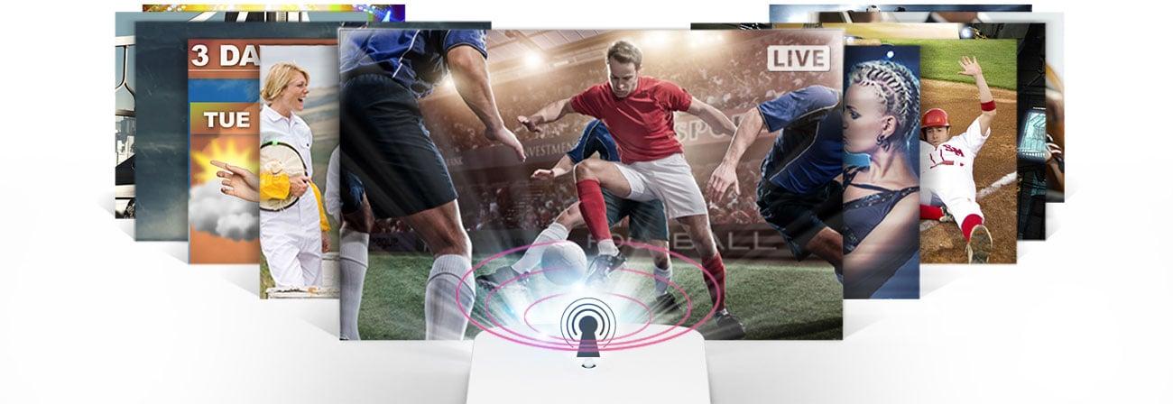 LG HF60LSR - Tuner TV