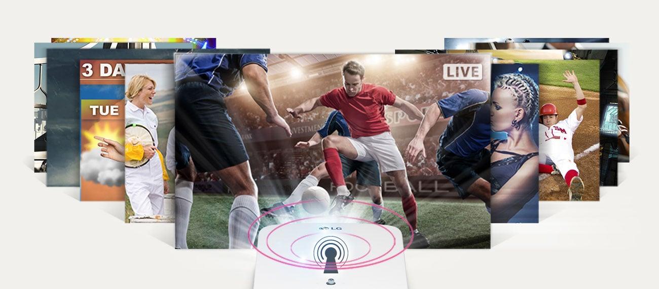 LG HF65LSR - Tuner TV
