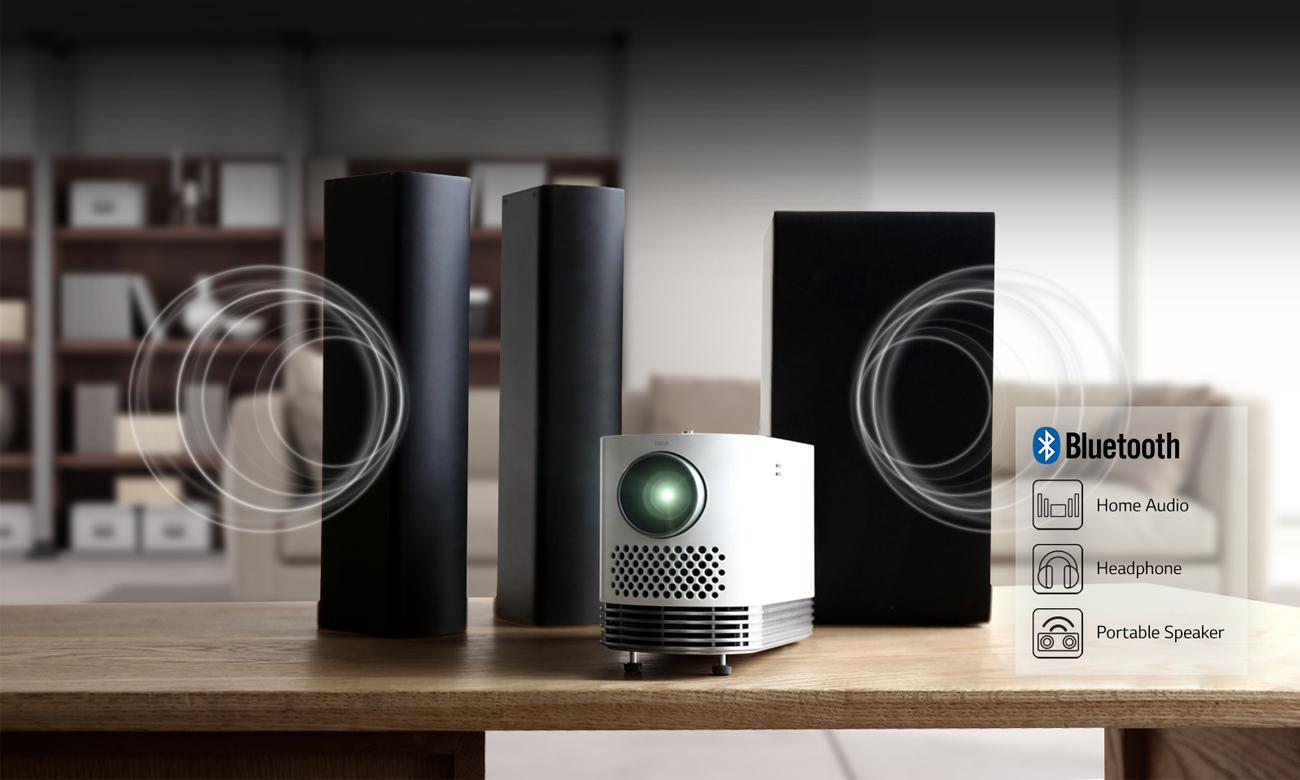 LG HF80JS Bluetooth