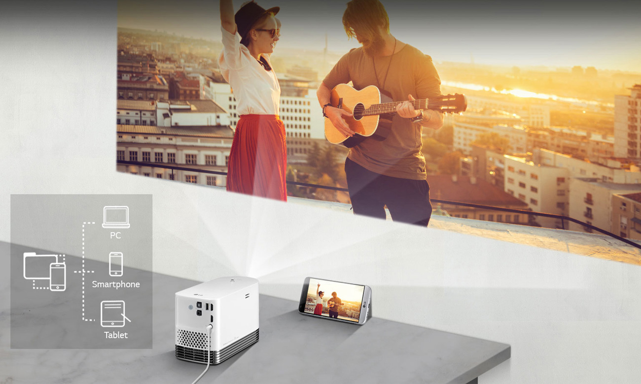 LG HF80JS Przesyłanie Obrazu