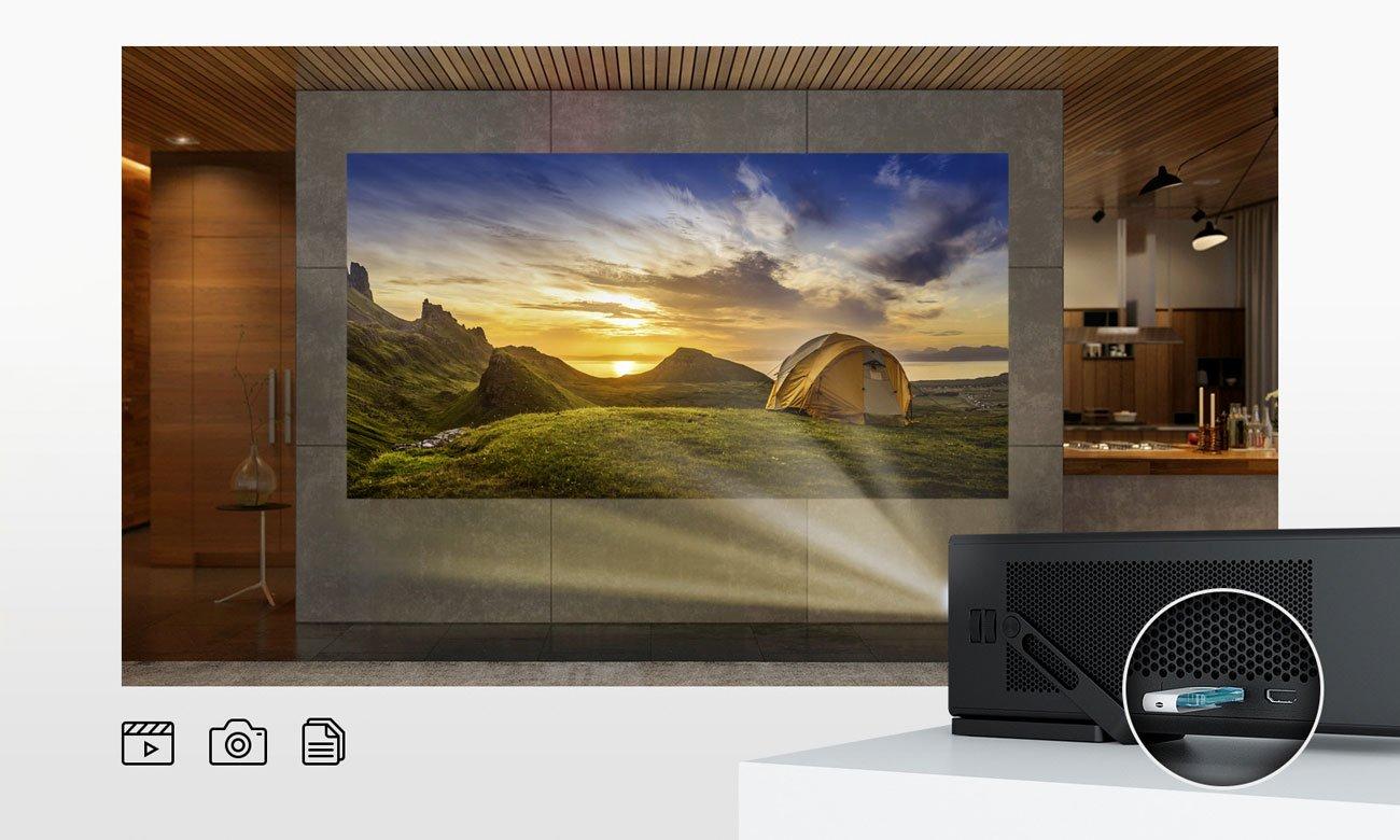 Projektor LG HU80KS Laser 4K