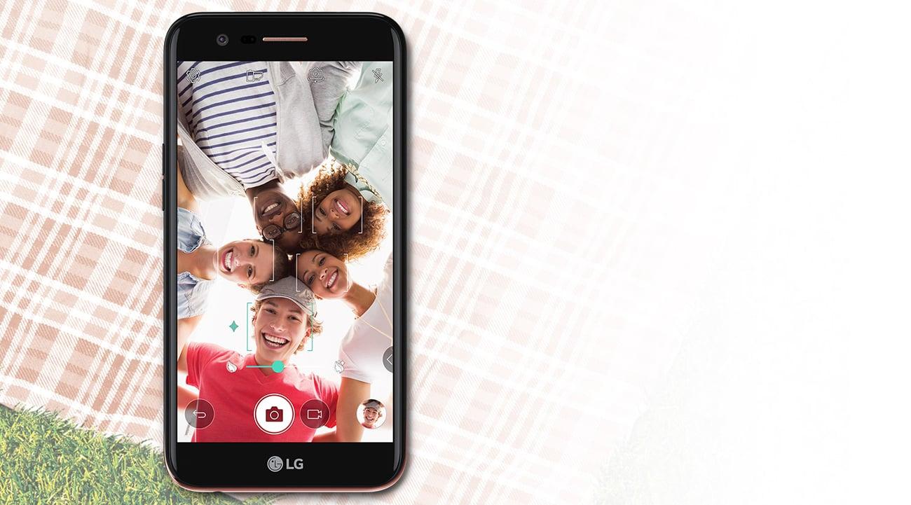 LG K10 (2017) wykrywanie twarzy