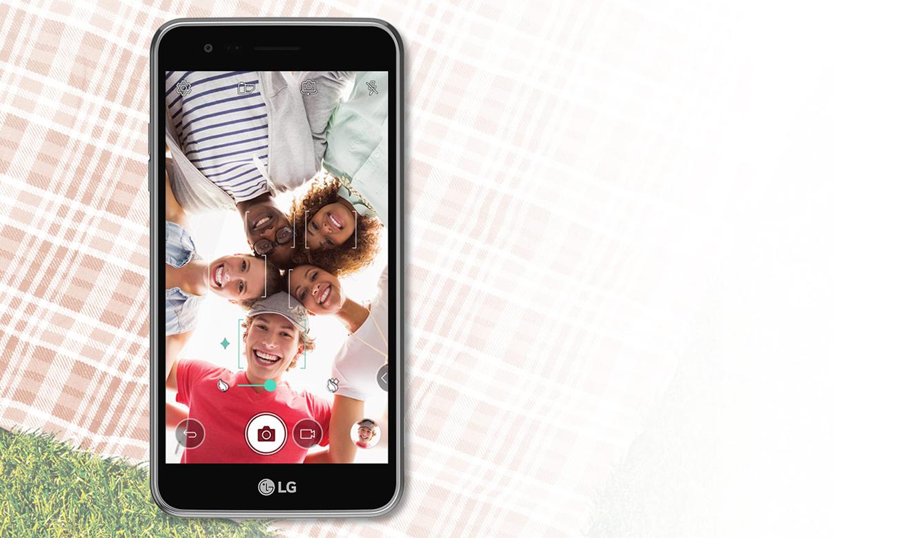 LG K4 (2017) Titan apart selfie 5 Mpix