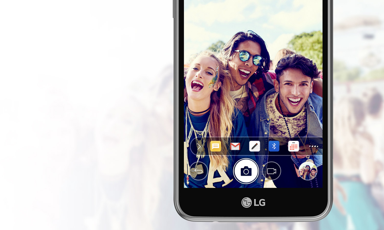 LG K4 (2017) szybkie udostepnianie