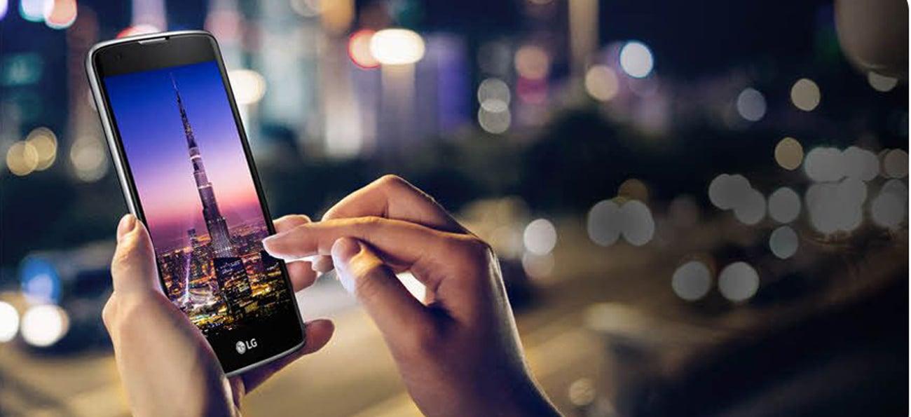 smartfon LG K8 LTE Dual SIM ekran 5'' HD in-cell