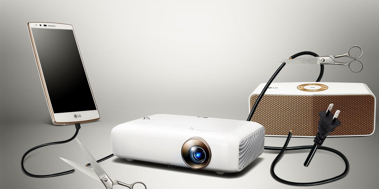 LG PH550G LED DLP