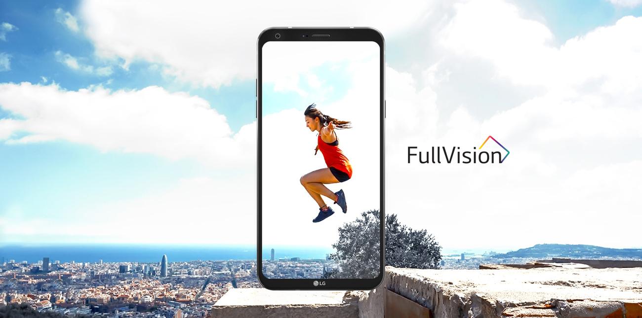 LG Q6 ekran fullvision
