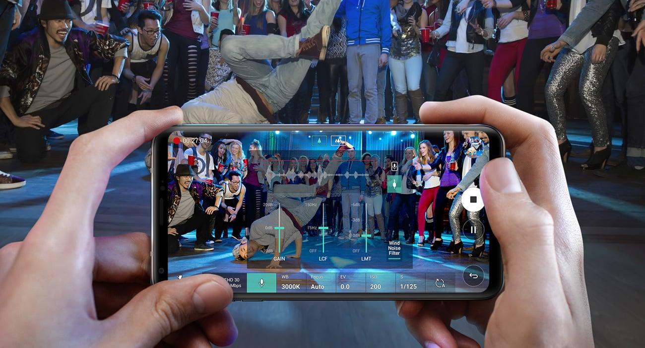 LG V30 mikrofon kierunkowy