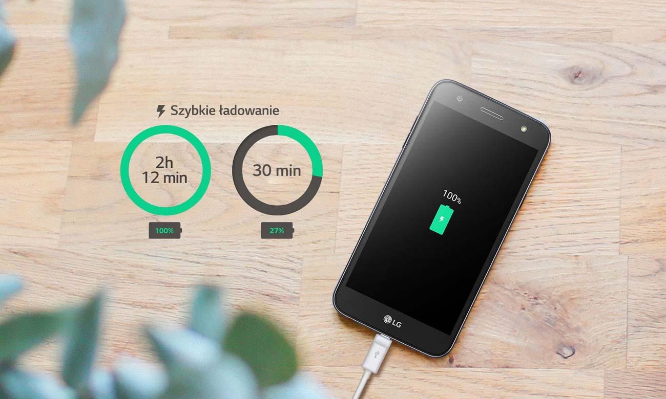 LG X Power 2 funkcja szybkiego ładowania