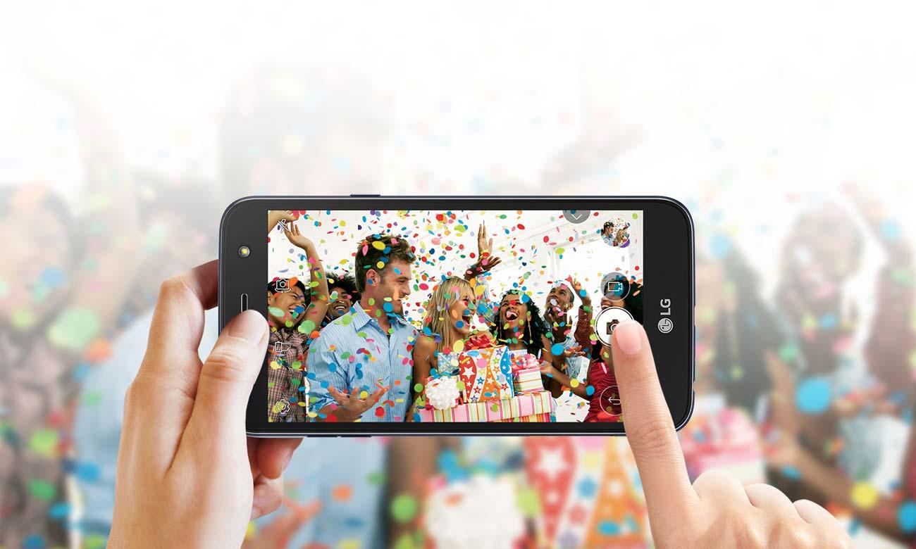 LG X Power 2 aparat 5 mpix selfie obiektyw szerokokątny