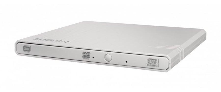 Nagrywarka zewnętrzna DVD Lite-On eBAU108 Slim USB biały