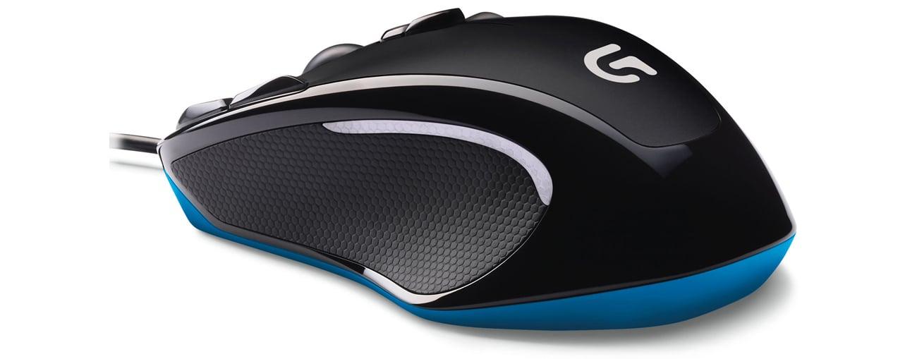 Logitech G300s Gaming Mouse Podświetlenie
