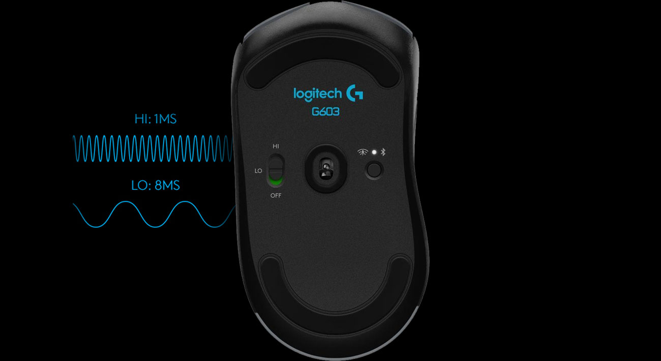 Logitech G603 Lightspeed Zarządzanie Energią