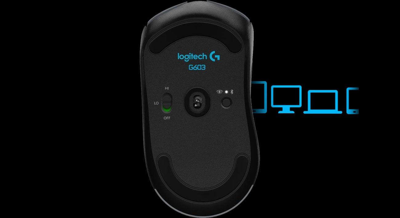 Logitech G603 Lightspeed Łączność