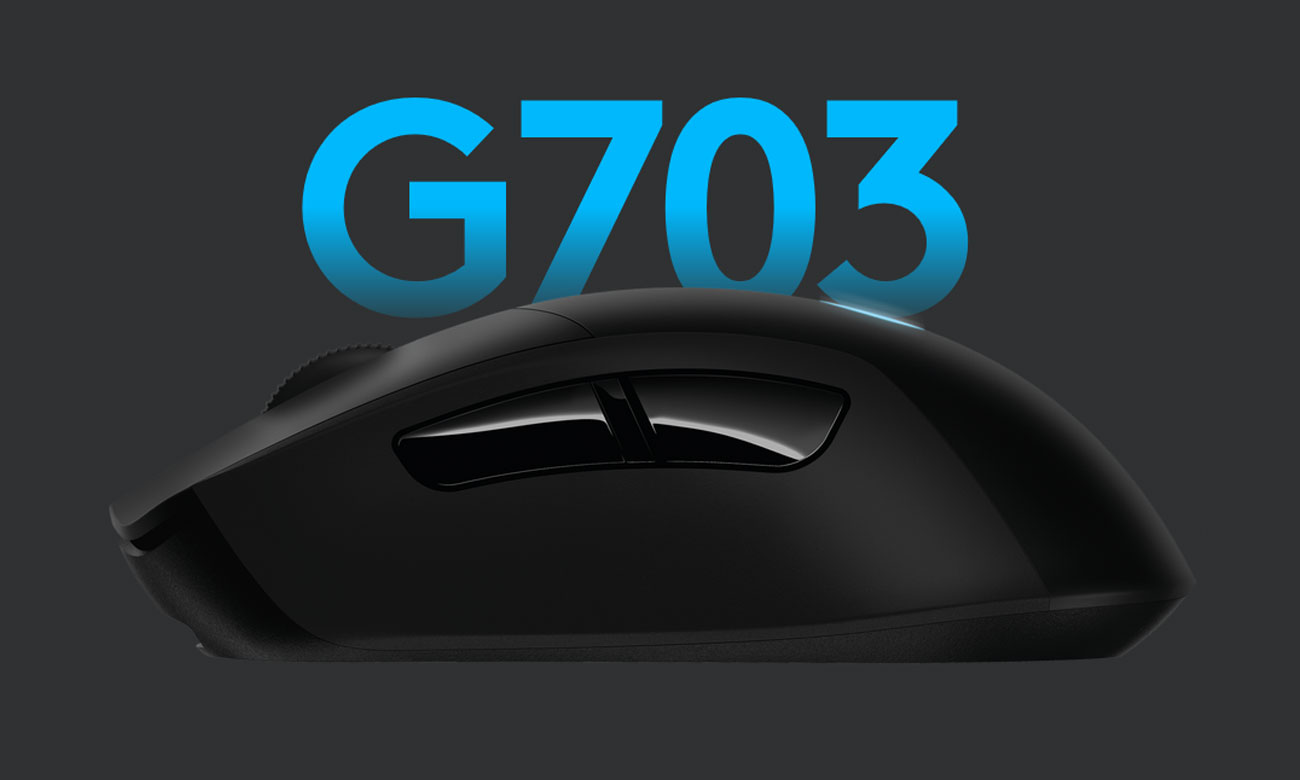 Mysz dla graczy Logitech G703 LIGHTSPEED HERO