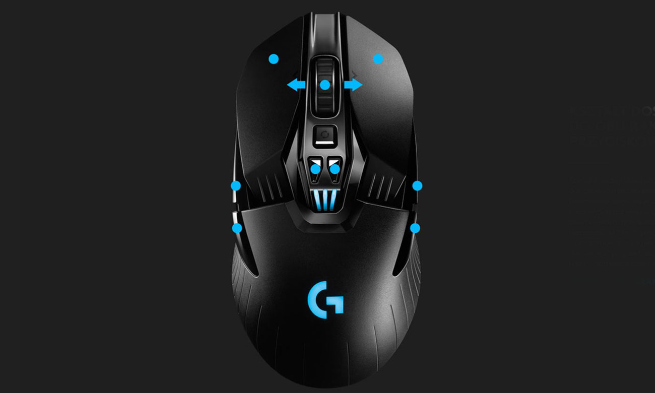 Mysz dla graczy Logitech G903 LIGHTSPEED HERO