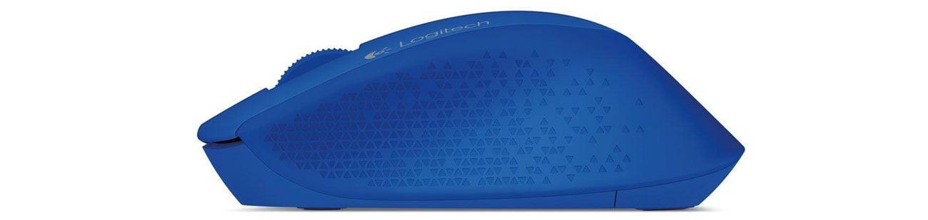 Logitech M280 Wireless Mouse niebieska niezawodna łączność bezprzewodowa