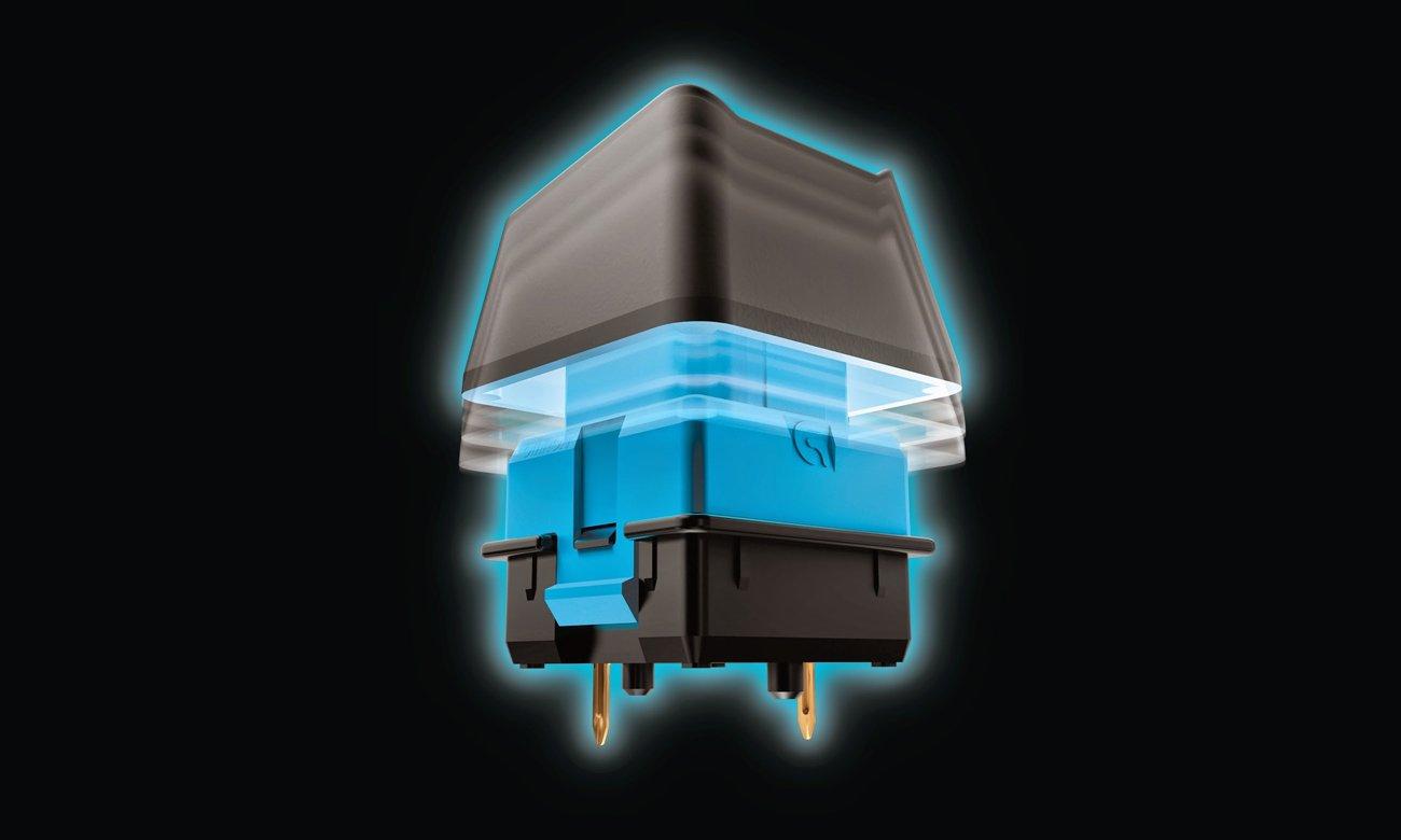 Logitech G910 Orion Spectrum Przełączniki Romer-G