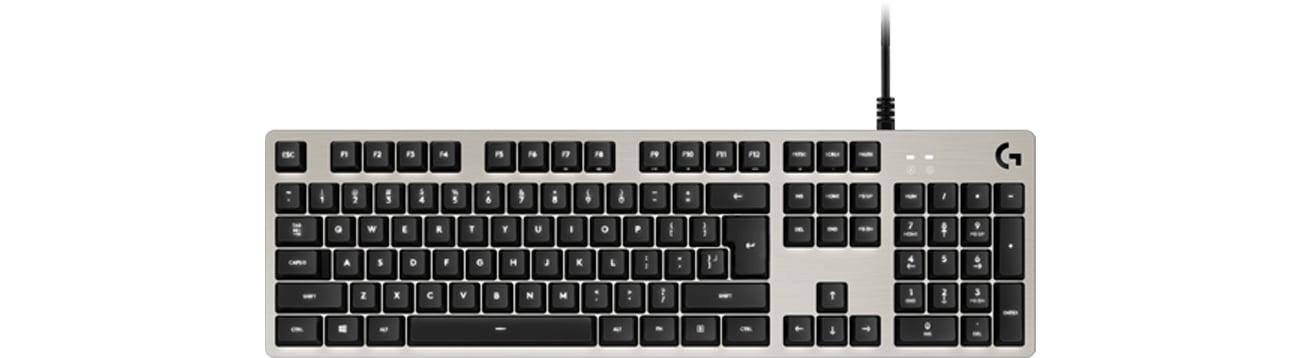 Logitech G413 Silver Port USB