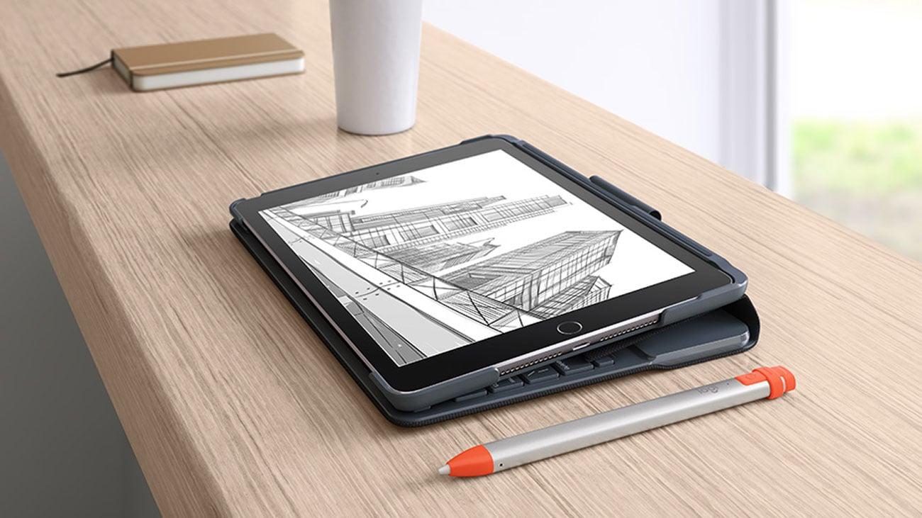 Etui na tablet Logitech Slim Folio do iPad 9.7'' Black 920-009024