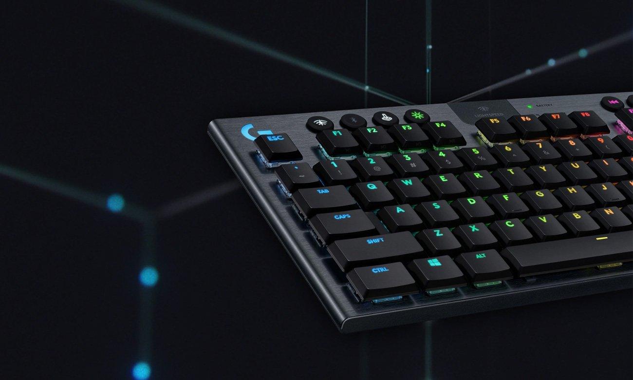 Klawiatura bezprzewodowa dla graczy Logitech G915 TKL