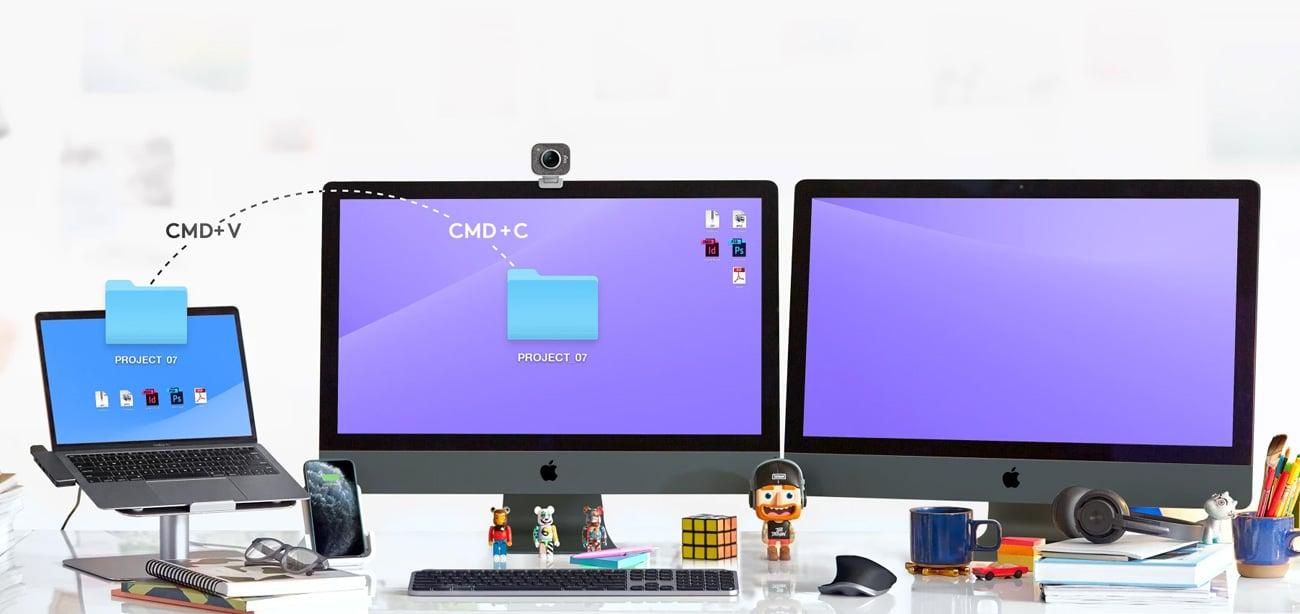 Idealna do domu i biura klawiatura Logitech MX Keys for Mac Space Grey