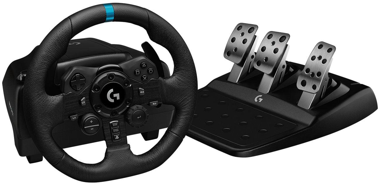 Kierownica Logitech G923 dla PC, PS5 i PS4