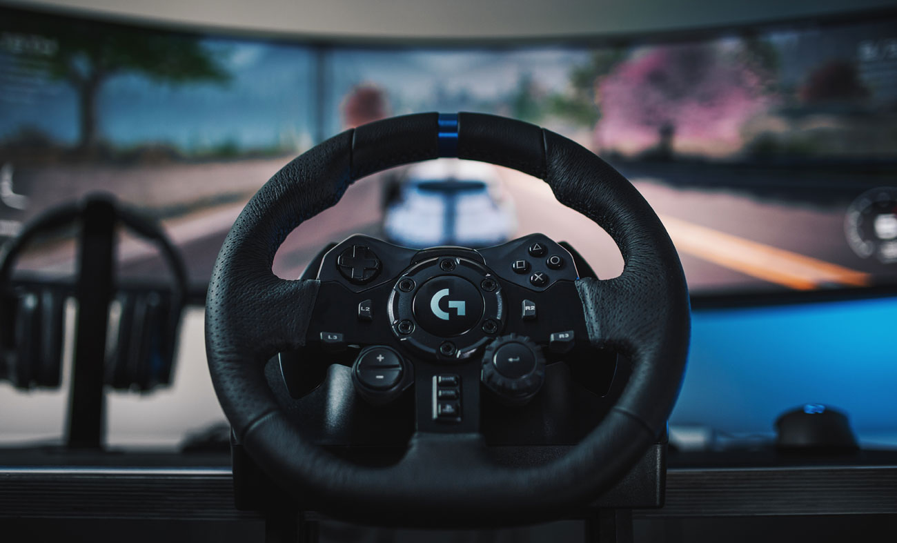Całkowita kontrola nad kierownicą