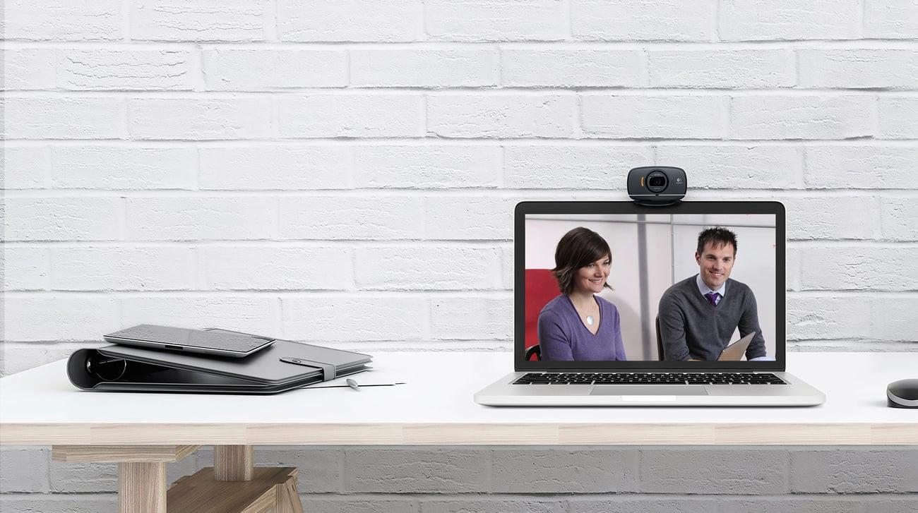 Logitech B525 HD Webcam Obraz i dźwięk o wysokiej jakości