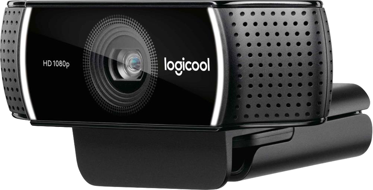 Logitech C922 złożone kamera