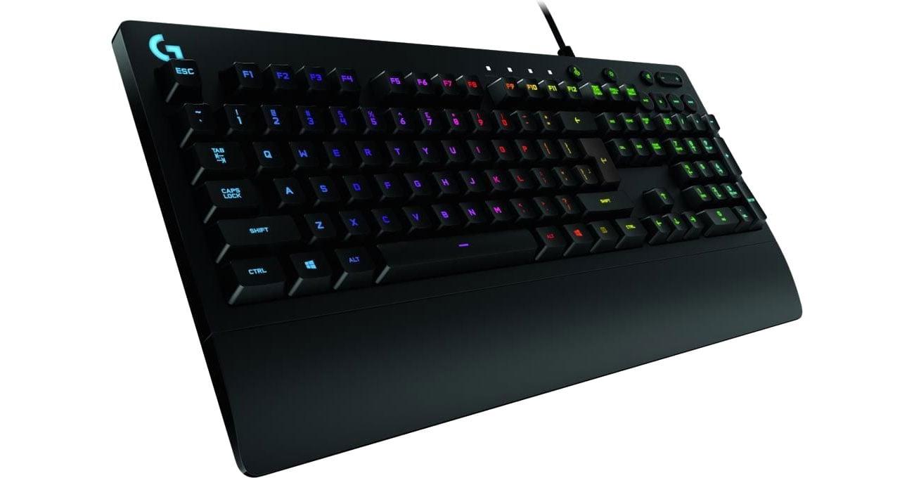 Logitech G213 podświetlenie RGB