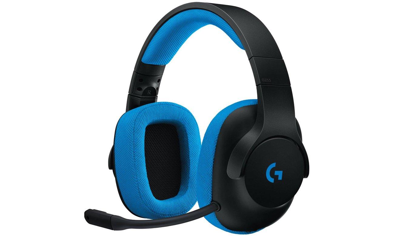 Słuchawki przewodowe Logitech G233 Prodigy Gaming Headset
