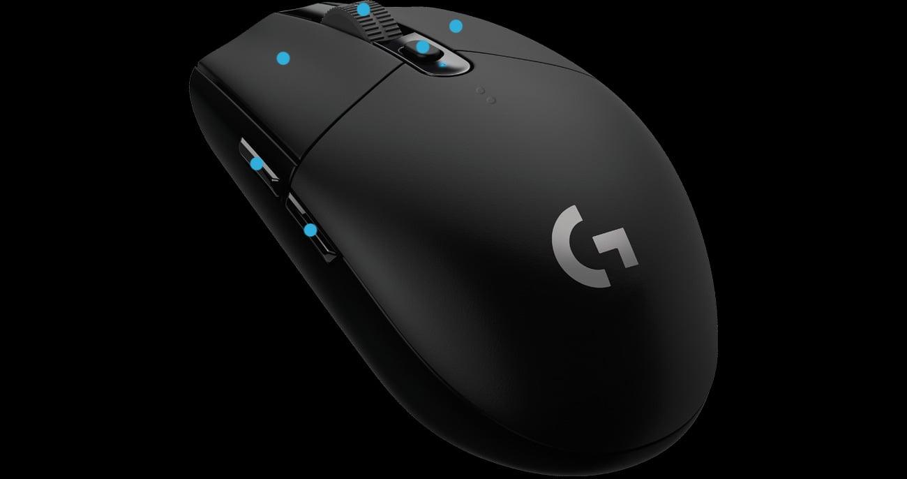 Logitech G305 LIGHTSPEED Programowalne Przyciski
