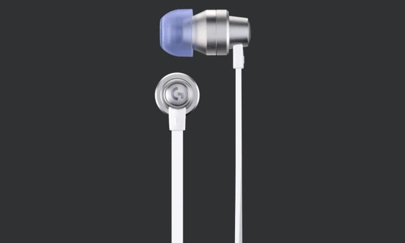 Słuchawki dla graczy Logitech G333 Białe