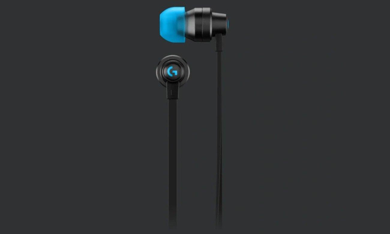Słuchawki dla graczy Logitech G333 Czarne